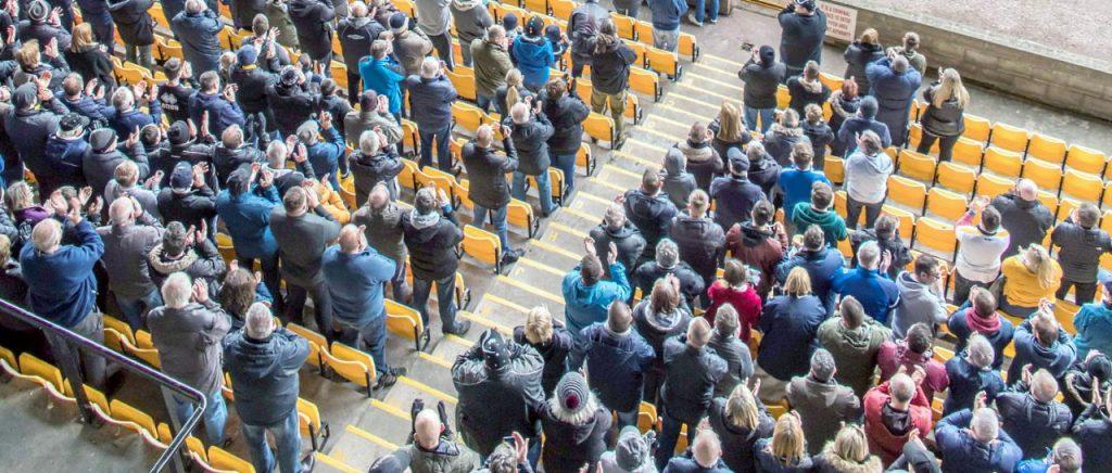 Port Vale fans