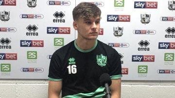 Port Vale midfielder Jake Taylor