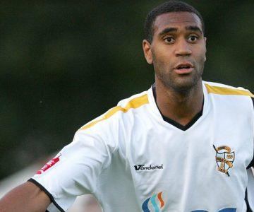 Port Vale striker Leon Constantine
