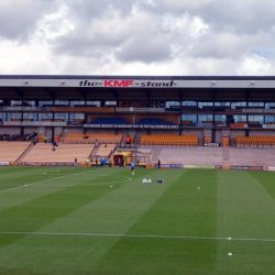 The Lorne St stand at Vale Park stadium
