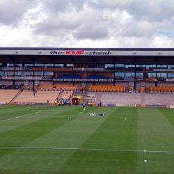 The Lorne St stand at Vale Park stadium