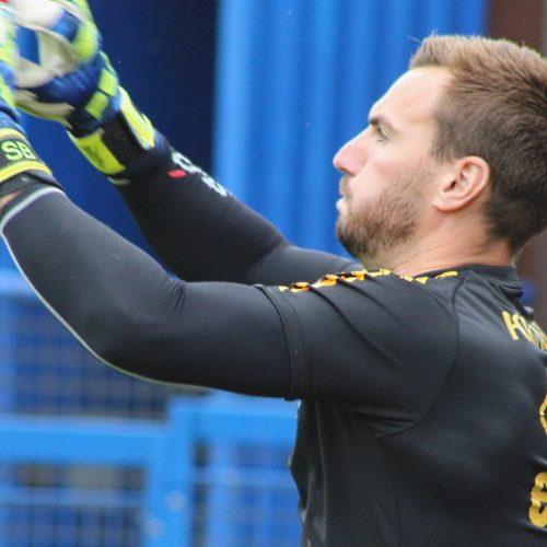 Port Vale goalkeeper Scott Brown