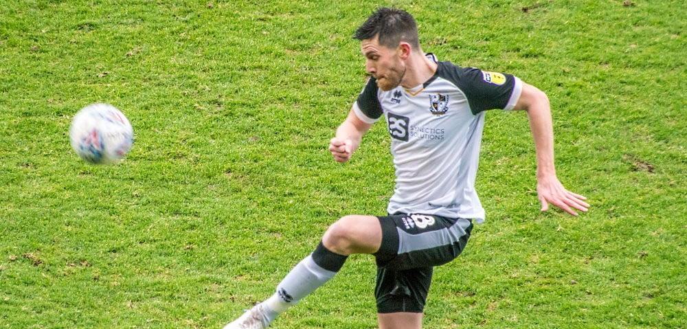 Port Vale defender Shaun Brisley