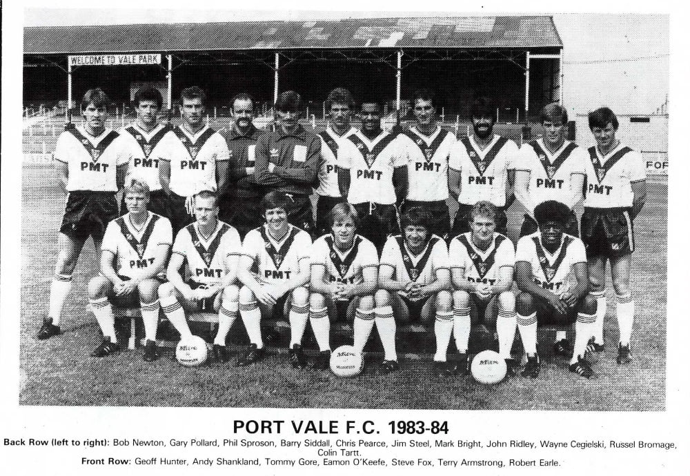 The 1983-84 Port Vale squad