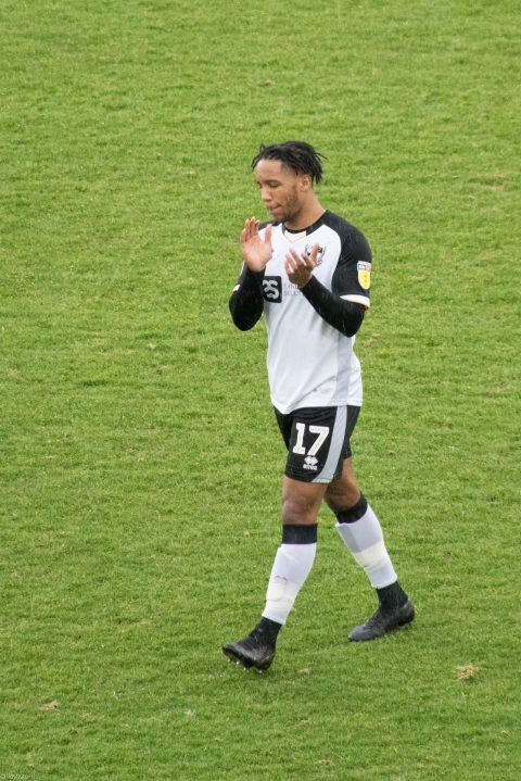 Rhys Browne applauds