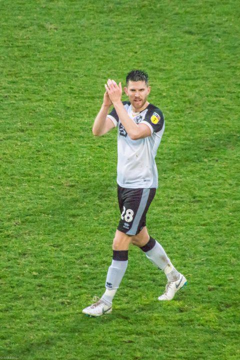 Shaun Brisley applauds