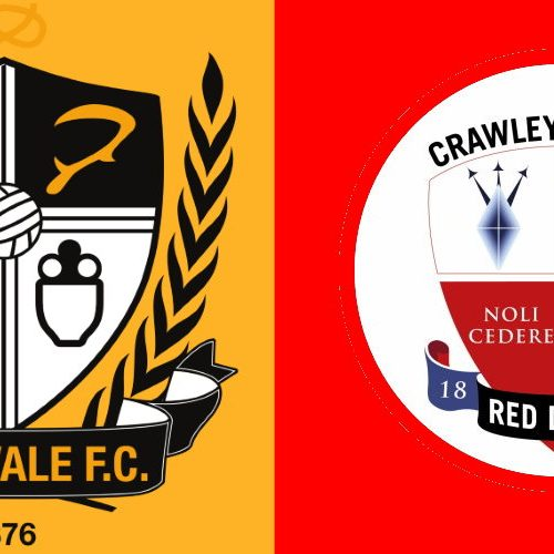 Port Vale vs Crawley preview