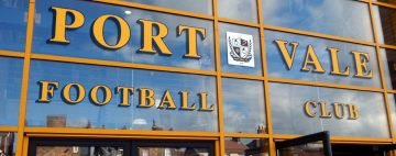 Port Vale stadium entrance