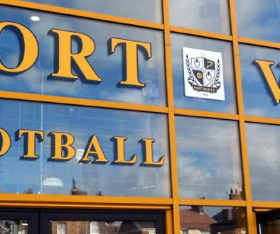 Port Vale stadium entrance