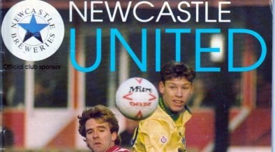 Newcastle United versus Port Vale, 1991