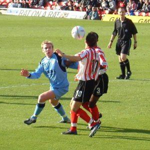 Steve McPhee at Brentford - 2002