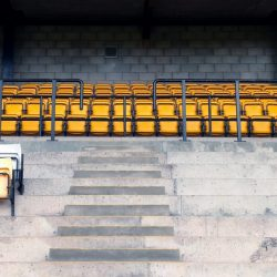 Lorne St stand seats