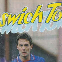 Ipswich Town v Port Vale programme,1990
