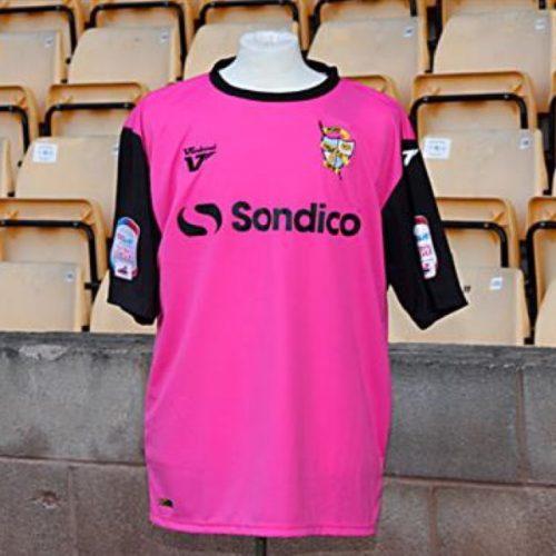 Port Vale's pink kit 2012