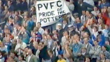 Port Vale vs Bristol Rovers, play-offs 1989