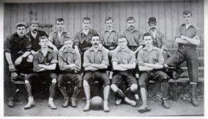 Port Vale history: 1894-95 Port Vale team photo