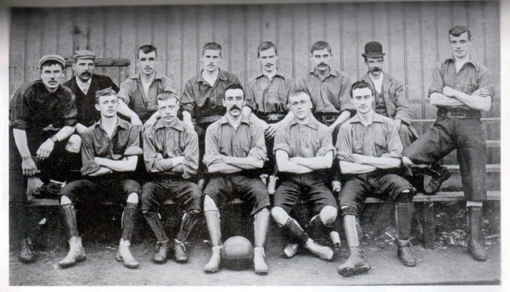 1894-95 Port Vale team photo