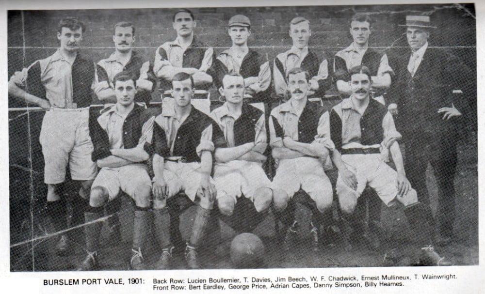 1901-02 Port Vale team photo