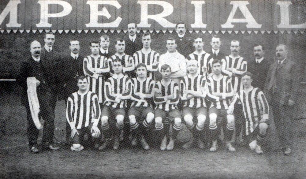 Port Vale 1909-10 team photo