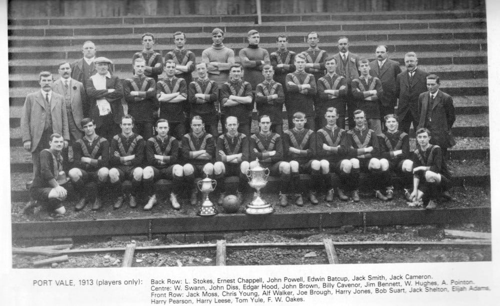 1913-14 Port Vale team photo