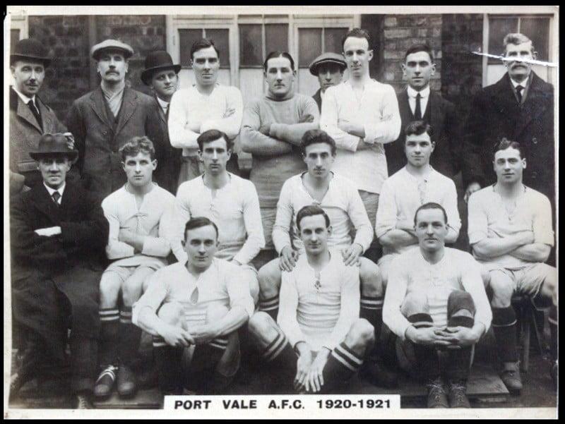 Port Vale 1920-21 team photo