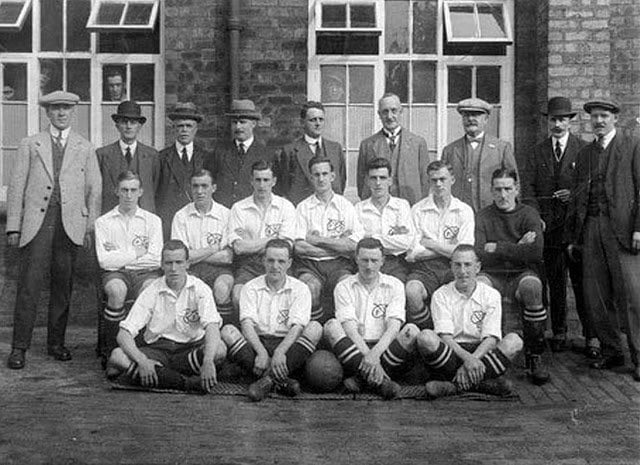 Port Vale 1921-22 team photo