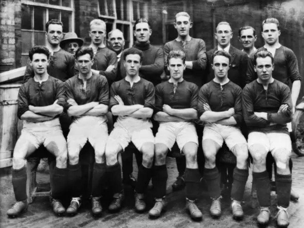 Port Vale 1925-26 team photo