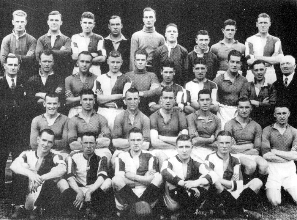 Port Vale 1933-34 team photo