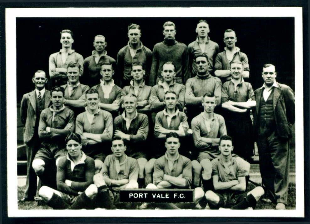 1936-37 Port Vale team photo