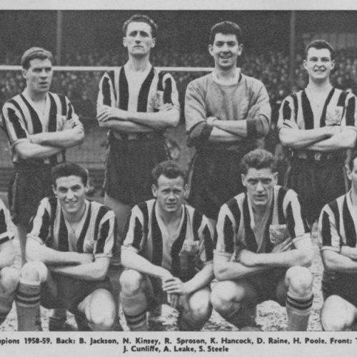 Port Vale 1958-59 team photo