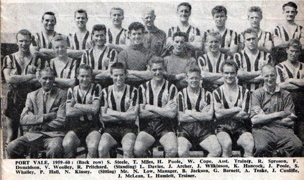 Port Vale 1959-60 team photo