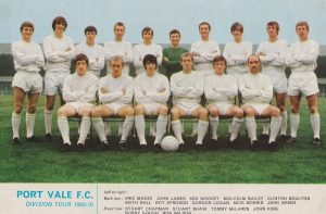 1969-70 Port Vale team line-up