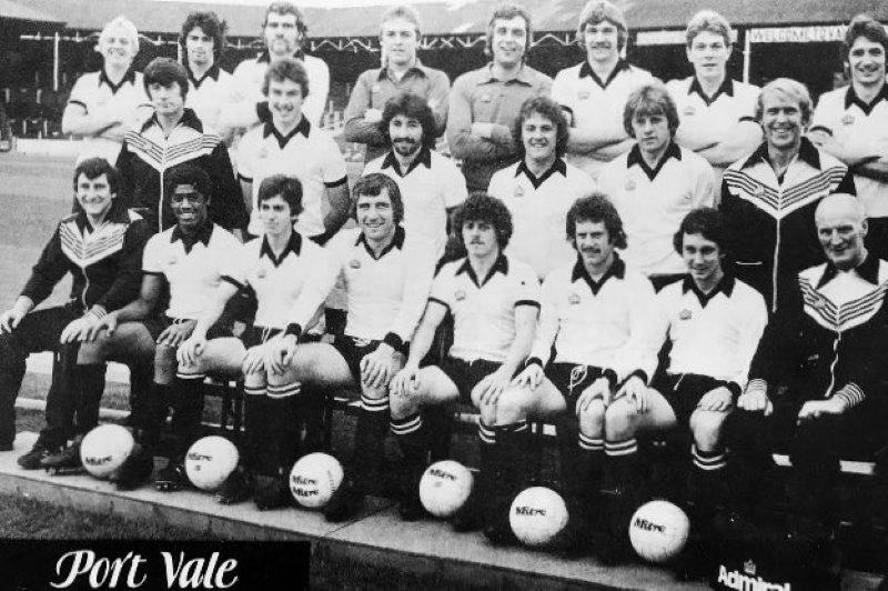 1978-79 Port Vale team photo