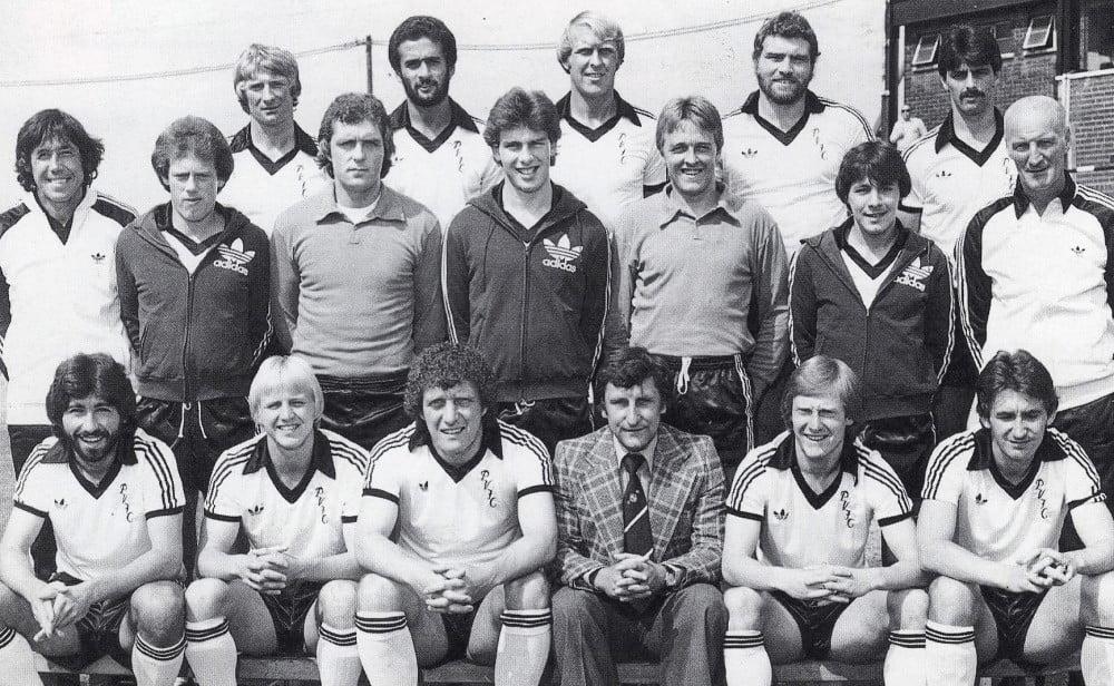 Port Vale 1979-80 team line-up