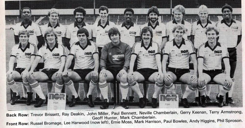 Port Vale 1981-82 team line-up