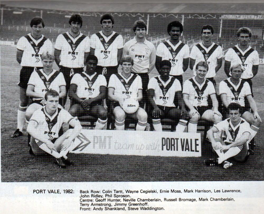 Port Vale 1982-83 team photo
