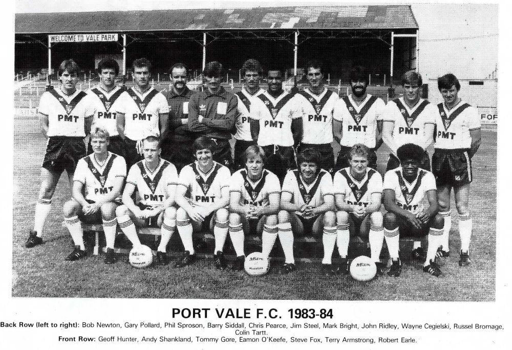 Port Vale 1983-84 team photo