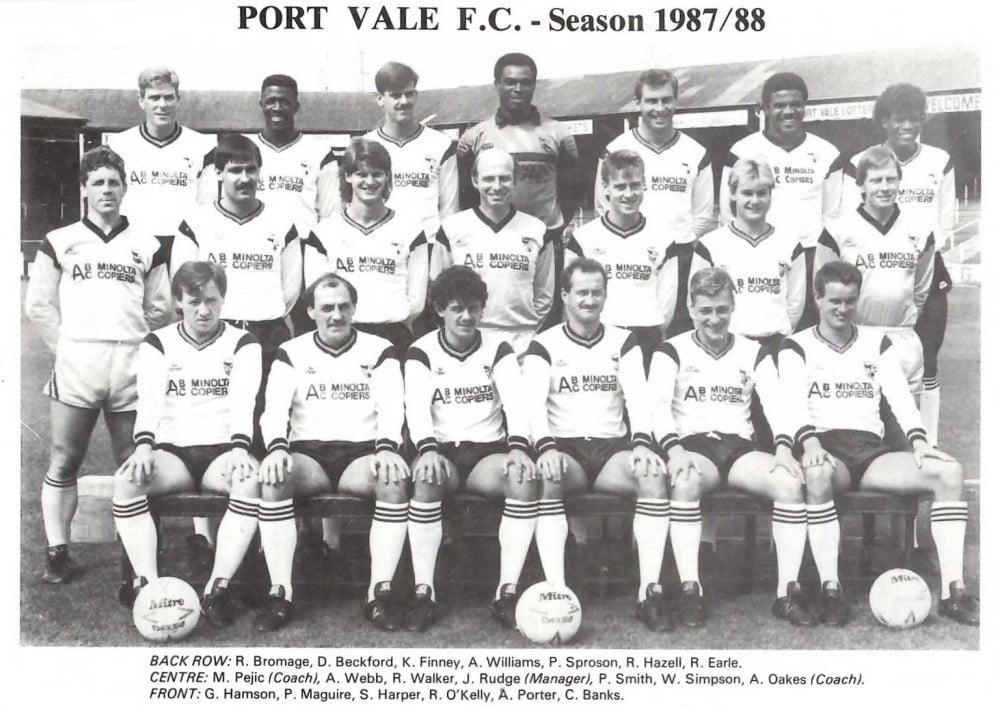 1987-88 Port Vale side