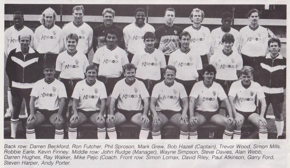 Port Vale 1988-89 team photo