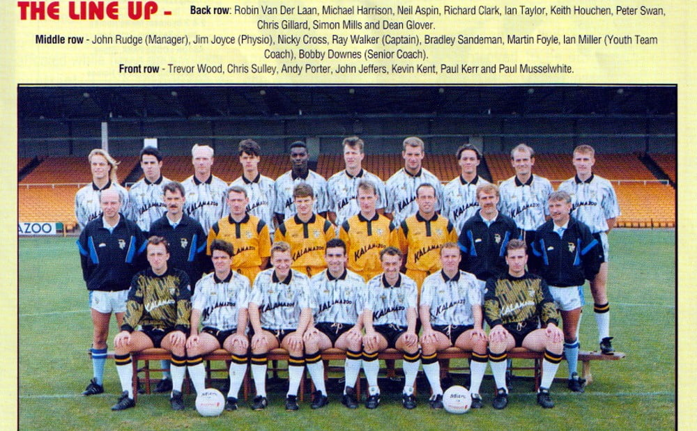 Port Vale 1992-93 team photo