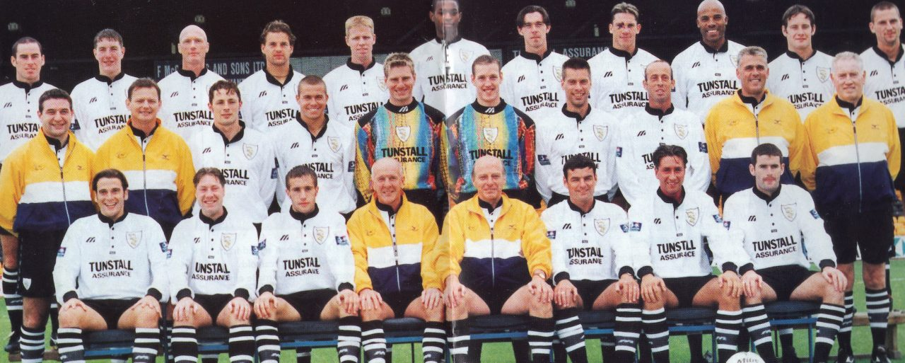 Port Vale 1998-99 team photo