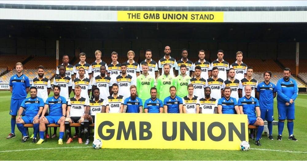 2016-17 Port Vale team photo