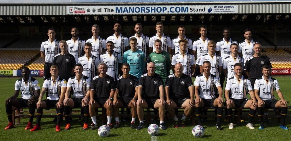 Port Vale 2018-19 team photo