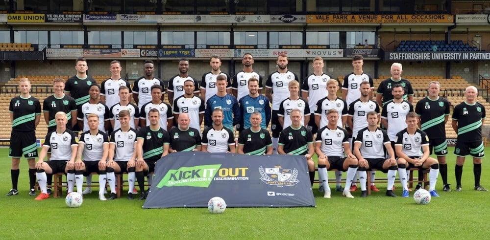 2019-20 Port Vale team photo