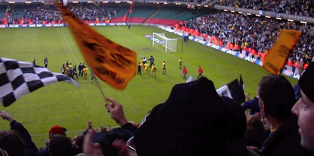 LDV Vans Trophy Final celebrations - images thanks to Gerard Austin