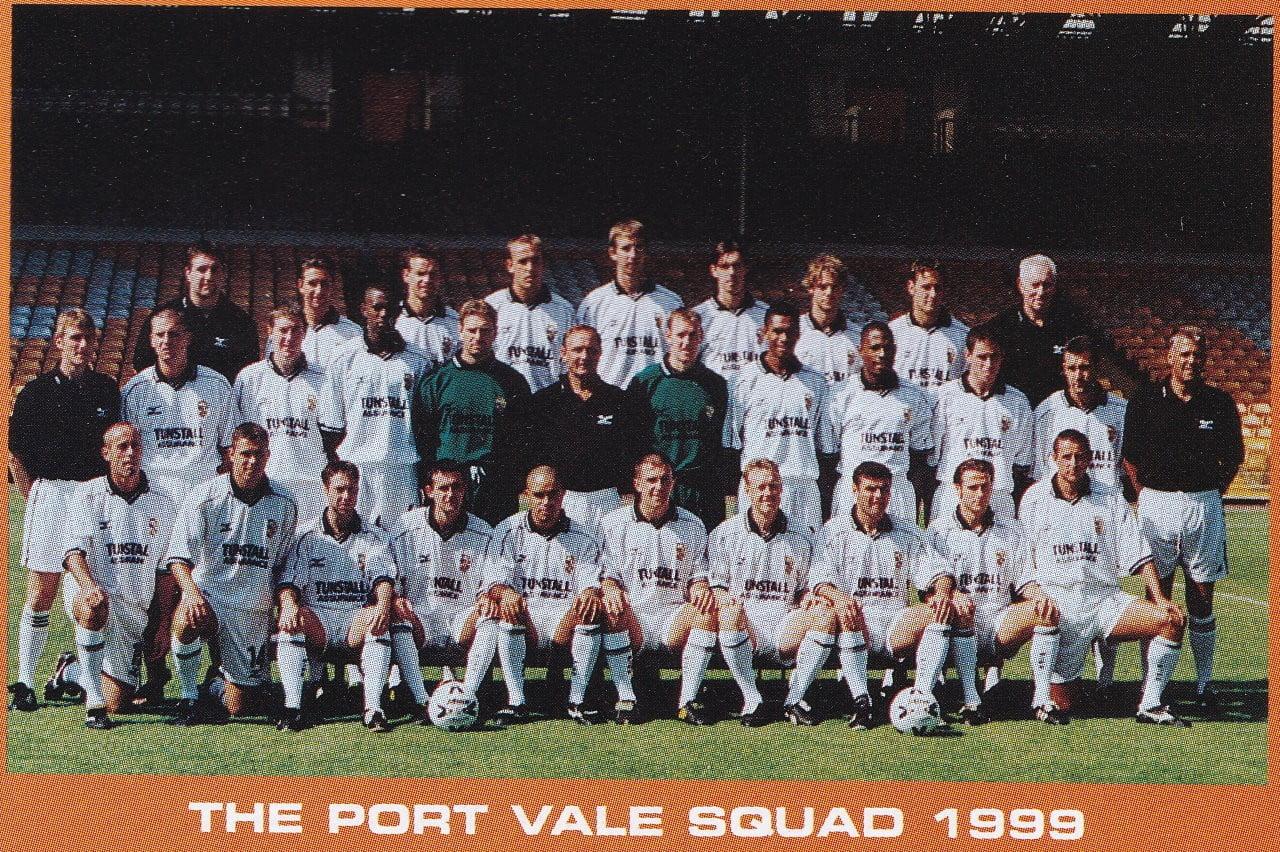 Port Vale 1999-2000 squad photo