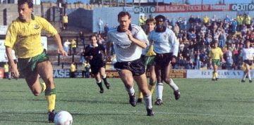 Port Vale striker Nicky Cross