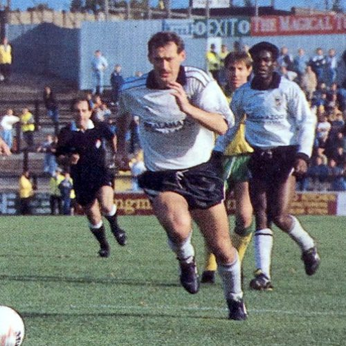 Port Vale striker Nicky Cross