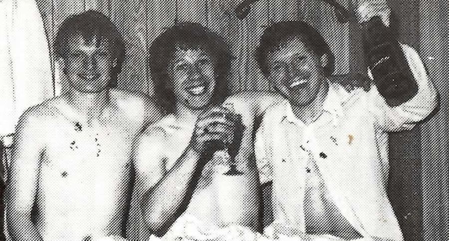 Promotion celebrations in 1983