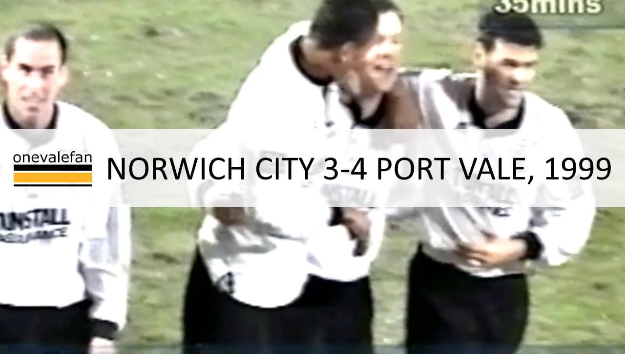 Norwich City 3-4 Port Vale